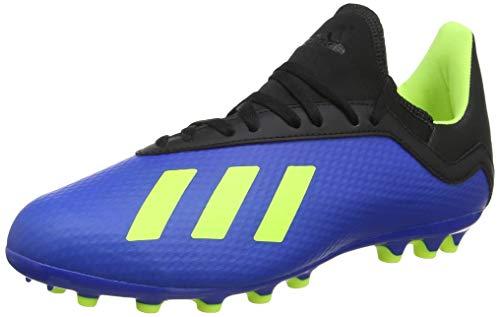 adidas X 18.3 AG, Scarpe da Calcio Uomo, Blu (Fooblu/Syello/Cblack Fooblu/Syello/Cblack), 42 EU