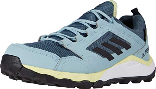 Adidas Terrex Agravic Trail Gortex Chaussures de course pour femme, Bleu (Teinte bleu/noir/jaune.), 41 EU