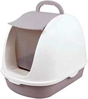 Cat Litter Box, Fully Enclosed Pet Crate Reduce Litter Scatter Up to 95% Includes Scoop