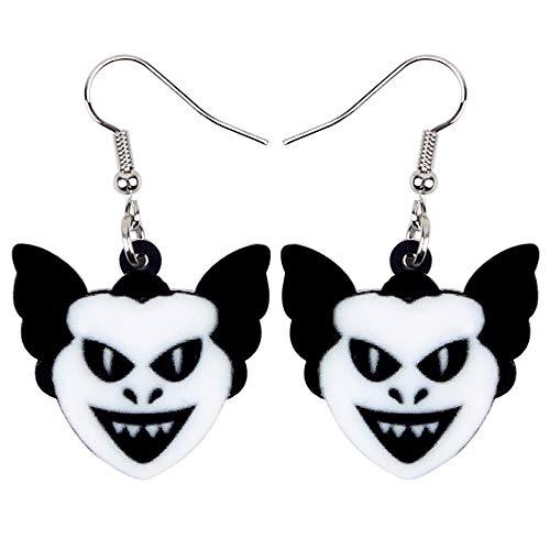 HBHBS Acryl Halloween Horrible Devil Ohrringe Tropfen Baumeln Einzigartige Party Dekoration Kostüme Schmuck Für Frauen