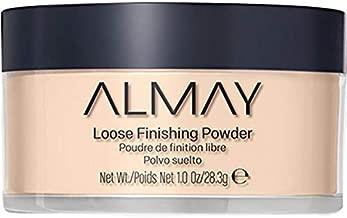 Almay Loose Finishing Powder, Natural Finish Mattifying Makeup Setting Powder, Hypoallergenic, Cruelty Free, Fragrance Free, Dermatologist Tested, 100 Light, 1 oz