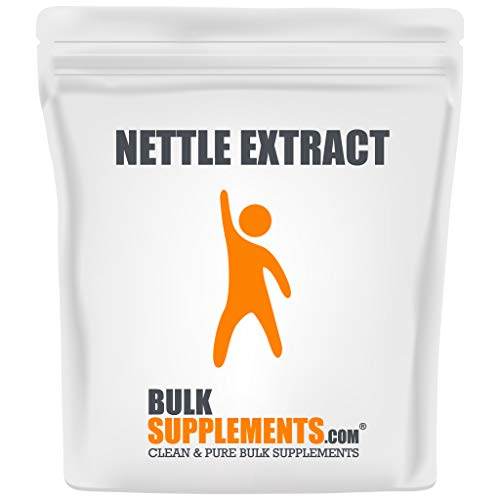 BulkSupplements.com Nettle Extract Powder - Blood Pressure Support Supplement - Stinging Nettle Root Extract (500 Grams)