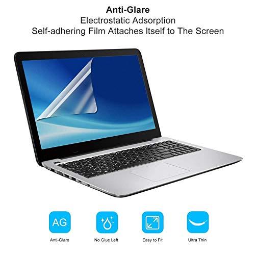 Attino Store Scratchguard AR Laptop 15.6 inch Anti Glare Matte Finish PET Film (0.1mm) Screen Protector Screen Guard for 15.6 inch Laptop Screen (Size 34.4cm x 19.2cm)