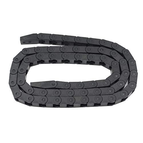 Befenybay - Cable de arrastre flexible de plástico negro para impresora 3D y máquinas CNC