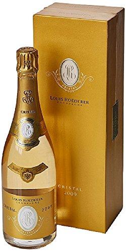 Champagne Louis Roederer Cristal 2009 con el caso 0,75 lt.