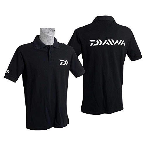 Daiwa - Polo Black Short Sleeves M - PNM