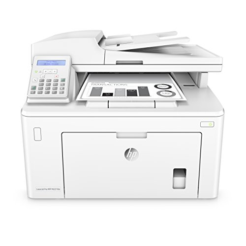 HP LaserJet Pro M203dn Laserprinter (printer, LAN, HP ePrint, Apple Airprint, USB, 1200 x 1200 dpi), wit Multifunctionele printer, LAN + fax A4 mono.