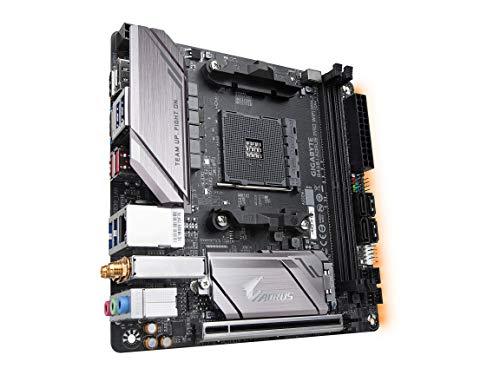 GIGABYTE B450 I AORUS PRO WIFI (AMD Ryzen AM4/Mini ITX/M.2 Thermal Guard with Onboard Wifi/HDMI/DP/USB 3.1 Gen 2/Motherboard)