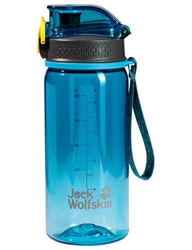 Jack Wolfskin Unisex– Erwachsene Tritan Trinkflasche, Turquoise, One Size