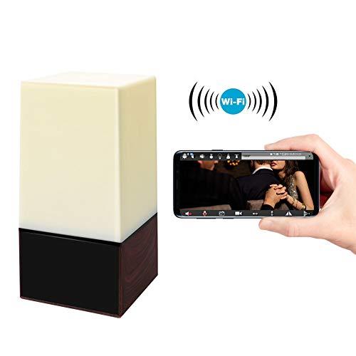 Balscw-J Mini espía Oculto cámara WiFi, pequeño HD 1080P Noche Color Espejo electrónico Remoto cámara inalámbrica