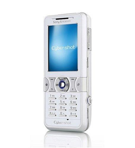Sony Ericsson K550i Weiss Handy