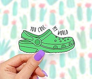 You Croc My World Laptop Sticker