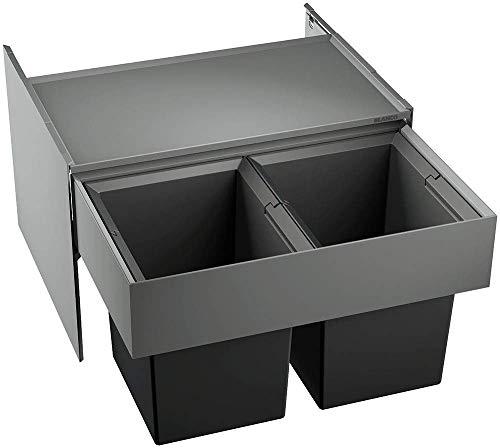 BLANCO Select Compact 60/2 - Sistema de separación de residuos para armario inferior de 60 cm con caldera o sistemas de tratamiento de agua
