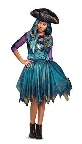 Disney Uma Classic Descendants 2 Costume, Teal, Medium (7-8)