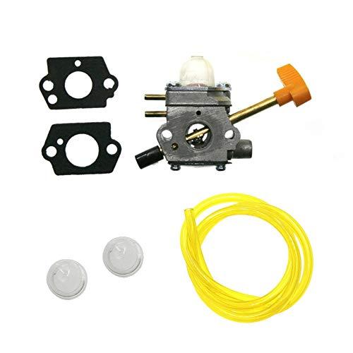 RUIXINLI Carb carburador 308054041 Junta de línea de Aceite Compatible para Homelite UT09520 UT09521 UT09523 UT09525 STOWER 26CC Piezas de Repuesto del carburador de locomotoras