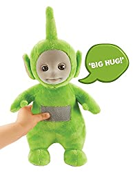 One supplied. Size H27, W13, D11cm. Button cell (included) plus . For ages 18 months and over.