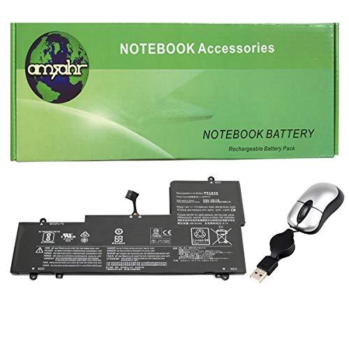 Ersatz Batterie für Lenovo Yoga 710-15ISK Yoga 710-14IKB 80V40000HH 710-14IKB 80V40001HH - Enthält eine optische Mini-Maus