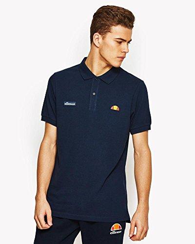 ellesse Montura Poloshirt, Tennis-Shirt, für Herren L Blau (Kleid blau)