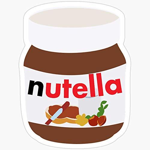 BeliNZStore Nutella-Aufkleber, 3 Stück