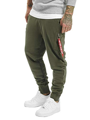 Alpha Industries X-Fit Slim Cargo Hose Oliv M