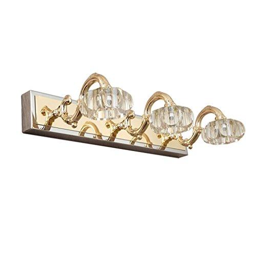 ZHDC® Europäische luxus LED, kristallspiegel scheinwerfer bad wc badezimmer wasserdichte feuchtigkeit wandleuchte make-up lampe länge 48 cm Stabil und zuverlässig
