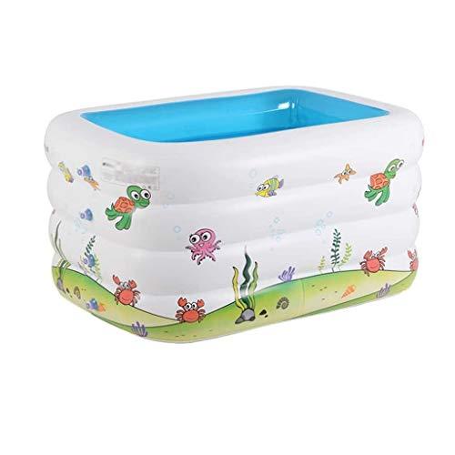NXYJD Piscina de niños, el Espesado inflables Interior los niños Piscina Family niño recién Nacido Piscina Cubo