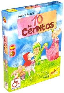 Mercurio Juego de Mesa niños 6 años Los Diez cerditos: Amazon.es ...