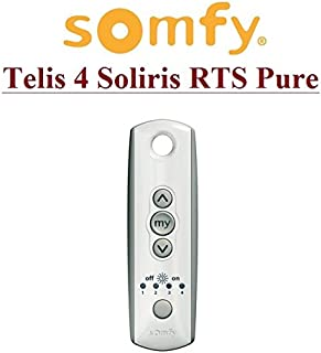 SOMFY Telis 4 Soliris RTS Pure, 5-channel remote control. Top quality ORIGINAL SOMFY remote control for the BEST PRICE!!!