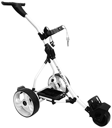 Rider Men Electric Golf Trolley - Silver, One Size