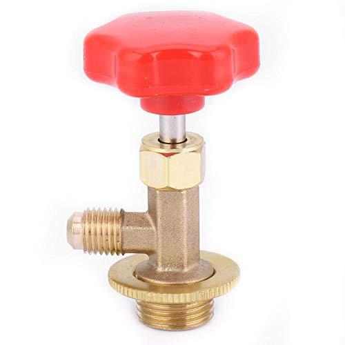 Abrebotellas de Refrigerante Válvula Dispensadora de Latón Acondicionador de Aire Refrigerante Puede Válvula de grifo Abrebotellas...