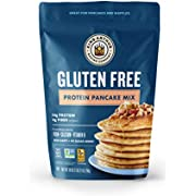 King Arthur, Gluten Free Protein Pancake Mix, Non-GMO Project Verified Certified Gluten Free by The GFCO, Certified Kosher, 28 Ounces