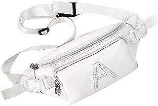 TOOGOO Women Bags PU Handbags Fashion Pure Color Bag Shoulder Crossbody Bag Chest Pack Black
