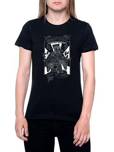 Bring out Yer Dead Camiseta Mujer Negra T-Shirt Women