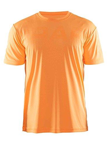 Craft Craft3hrun Prime Logo tee–Camiseta de Running para Hombre, Hombre, Color 1563/Sprint, tamaño XL