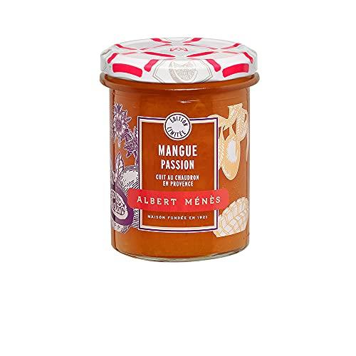ALBERT MENES AM - Les Confitures - Confiture de Mangue et de Fruit de la Passion 280 g