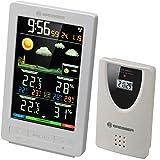 Bresser ClimaTemp WS - Estación meteorológica, color blanco