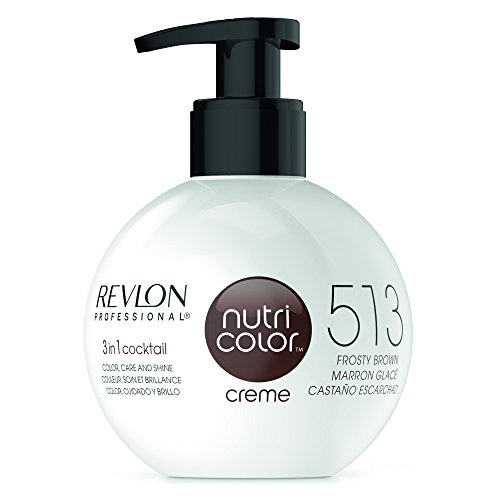 REVLON PROFESSIONAL Nutri Color Creme ,Nr. 513 Frosty Brown, 1er Pack (1 x 270 ml)