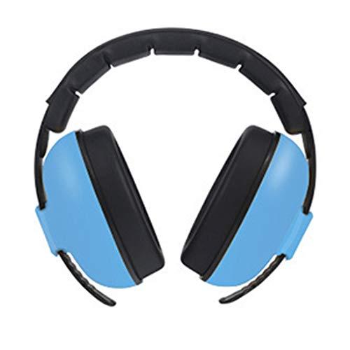 🦄🦄🦄Orejeras insonorizadas,Protección auditiva para el bebé Auriculares con cancelación de Ruido Orejeras Ajustables,Orejeras Protectoras para Aprender Dormir🦄🦄🦄 (Azul)
