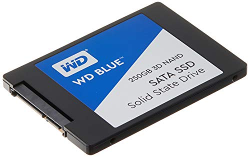 """WD Blue 3D NAND SATA SSD Unità allo Stato Solido Interna 2.5"""", 250 GB"""