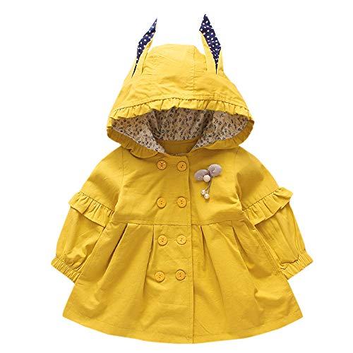 Hui.Hui Veste à Capuche et à Capuchon pour Enfants à Manches Longues et à Pois,Hiver Pas Cher Ensemble Cardigan Pull Pullover Vêtements Manteau Noël Cadeau pour Enfants