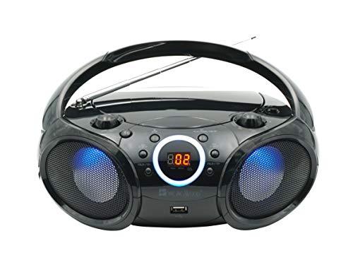 radio portatil am fm con entrada usb fabricante SINGING WOOD