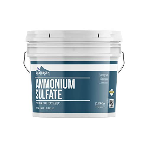 Ammonium Sulfate (1 Gallon Bucket, 9 lbs) by Earthborn Elements,...