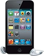 $59 » Screen Protector +Box Packaging with Original Music Player Apple iPod 4th Generation Touch (8GB-Black)