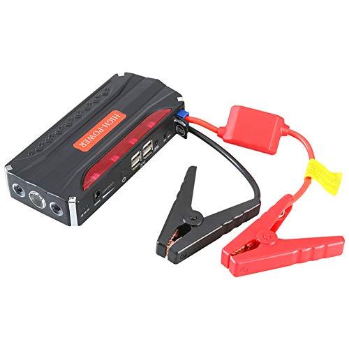 Preisvergleich Produktbild WYYZSS Auto-Starthilfe,  Power Bank 20000mAh 12V Tragbares Auto-Autobatterie-Booster-Netzteil mit LED-Taschenlampe,  3, 0 USB-Schnellladeanschlüsse