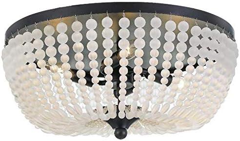 Rylee 4 Light Matte Black Ceiling Lamp