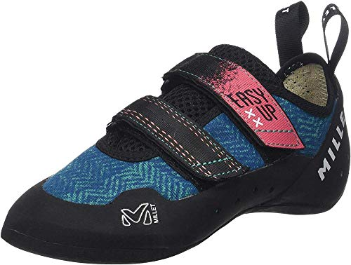 MILLET Easy Up W, Climbing Shoe Donna, Blu Pool Blue 000, 38.5 EU