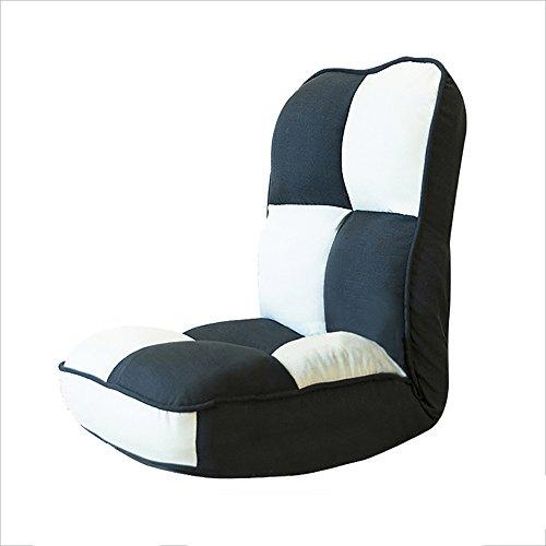 G-Y Sofa Paresseux, Chaise Pliante Simple, Chaise De Lit, Chaise De Baie Vitrée, Chaise Paresseuse D'ordinateur, Divan Paresseux (Couleur : Noir)