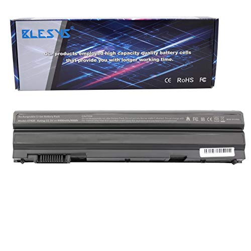 BLESYS 11.1V 8858X T54FJ Battery for Dell Latitude E5420 E5430 E5520 E5530 E6420 E6430 E6440 E6520 E6530 E6540 Inspiron 7420 7520 5720 Series N3X1D M5Y0X NHXVW 71R31 Laptop 4400mAh