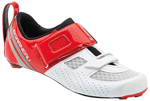 Louis Garneau - Men's Tri X-Lite Triathlon 2 Bike Shoes, Ginger/White, US (9.5), EU (43)