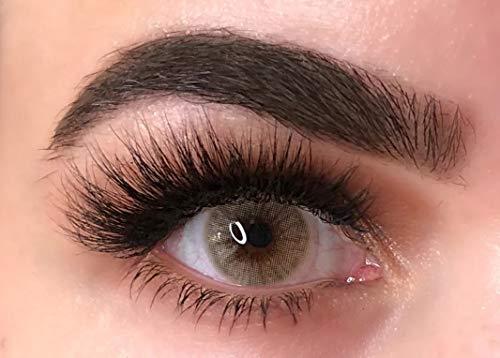 Freshtone Super Naturals farbige Kontaktlinsen ohne Stärke - hazelnut hellbraun